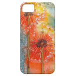 Pretty Painted Dandelion iPhone 5 Case