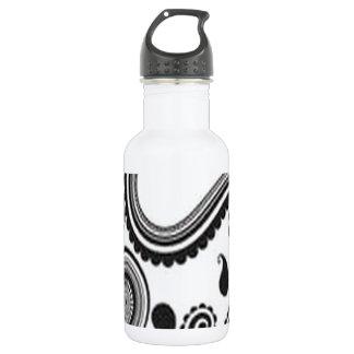 Pretty paisley design 18oz water bottle