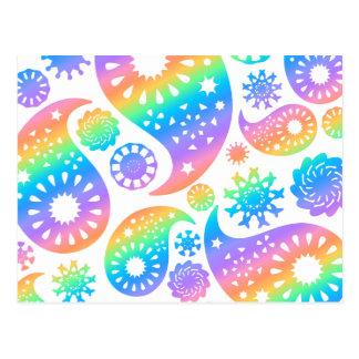 Pretty Paisley Design. Post Cards