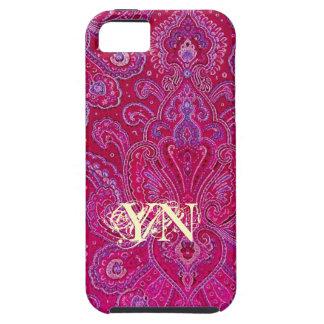 Pretty Paisley monogram iPhone 5 Cover