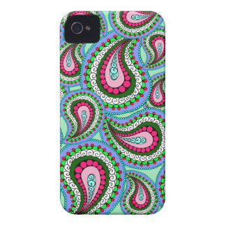 Pretty Paisley Phone Case Case-Mate iPhone 4 Cases