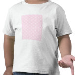 Pretty pale pink damask pattern with white. tees