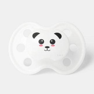 Pretty Panda Pacifier