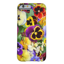 Pretty Pansies Barely There iPhone 6 Case
