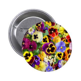 Pretty Pansies Pin