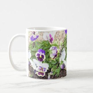 Pretty Pansies Coffee Mug