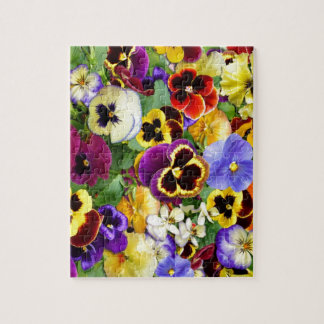 Pretty Pansies Jigsaw Puzzles