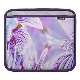 Pretty Pansy Floral iPad Sleeve