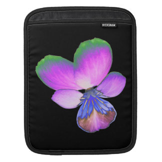 Pretty Pansy IPad Sleeve