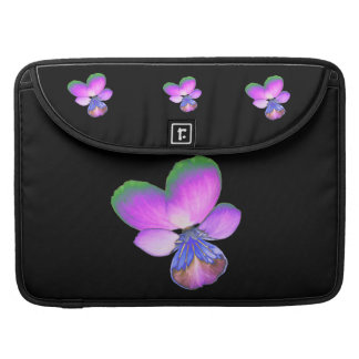 Pretty Pansy MacBook Pro Sleeve