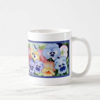 Pretty Pansy Mug