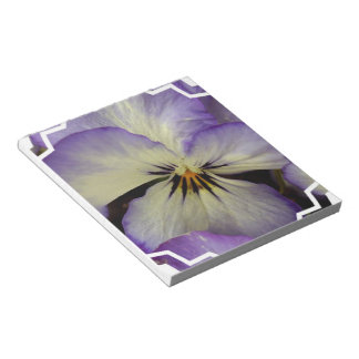 Pretty Pansy  Notepad