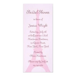 Pretty Paris Bridal Shower Invitation