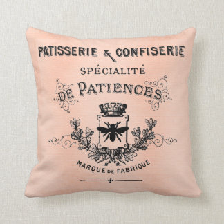 Pretty Paris French Patisserie Pillow