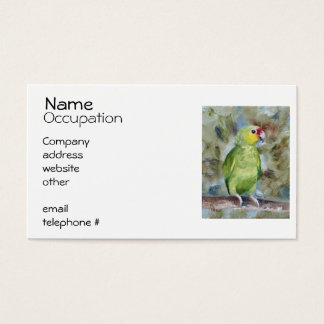 Pretty Parrot Business Card