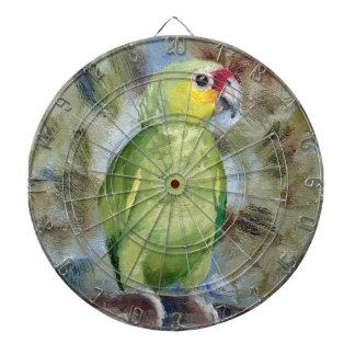 Pretty Parrot Dart Board