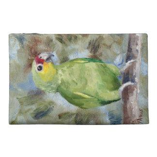 Pretty Parrot Travel Accessory Bag