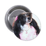 Pretty Parti Poodle in Pink Pin