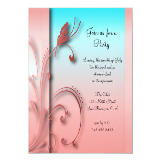 Pretty Party Celebration Design | DIY Text Card