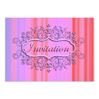 Pretty Party Invitation