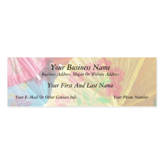 Pretty Party Parasols Double-Sided Mini Business Cards (Pack Of 20)
