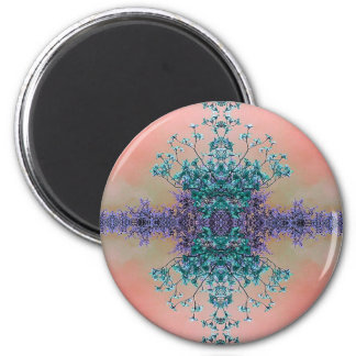 Pretty Pastel Artistic Abstract Dogwood Blossoms Magnet