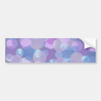 Pretty Pastel Balls Bumper Sticker
