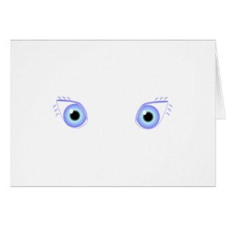 Pretty Pastel Blue Eyes Card