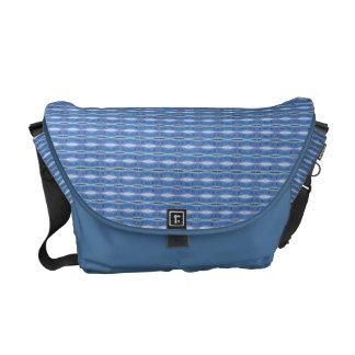pretty pastel blue pattern commuter bag