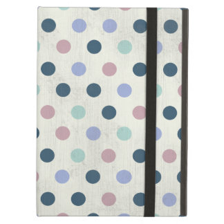 Pretty Pastel Colors 2 Polka Dot Pattern Cover For iPad Air