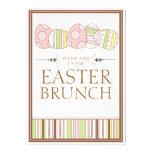 Pretty Pastel Decorate Easter Brunch Invitation
