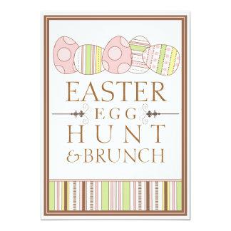 Pretty Pastel Decorate Easter Egg Hunt Invitation