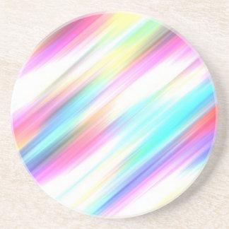 Pretty Pastel Drink Coaster