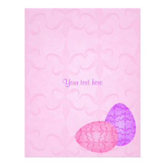 Pretty pastel Easter eggs Personalized Flyer