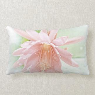 Pretty Pastel Flower Lumbar Pillow