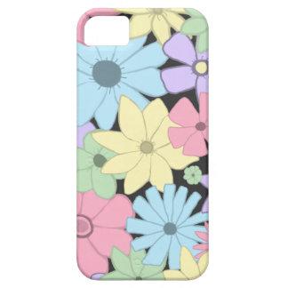 Pretty Pastel Flowers iPhone SE/5/5s Case