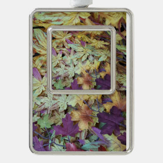 Pretty Pastel Leaves Photography Ornament