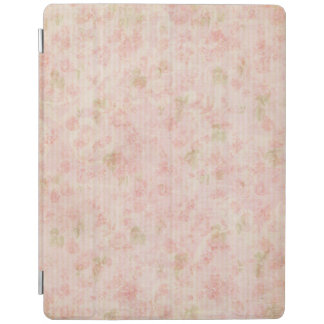 Pretty Pastel Pink Floral iPad Smart Cover