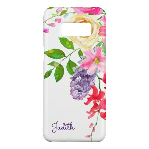 Pretty Pastel Watercolor Case-Mate Samsung Galaxy S8 Case