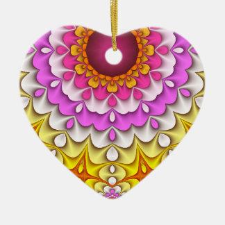 Pretty Pastels Heart Ornament