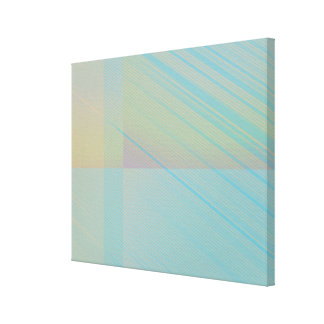 Pretty Pastels - Pale Colored Abstract Canvas Print
