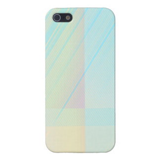 Pretty Pastels - Pale Colored Abstract Cover For iPhone SE/5/5s
