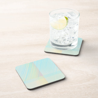 Pretty Pastels - Pale Colored Abstract Drink Coaster