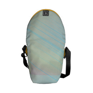 Pretty Pastels - Pale Colored Abstract Messenger Bag