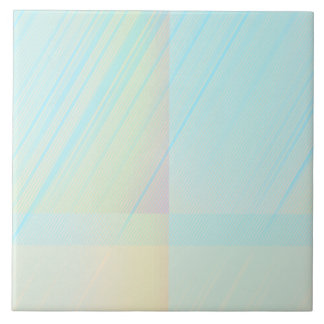 Pretty Pastels - Pale Colored Abstract Tile