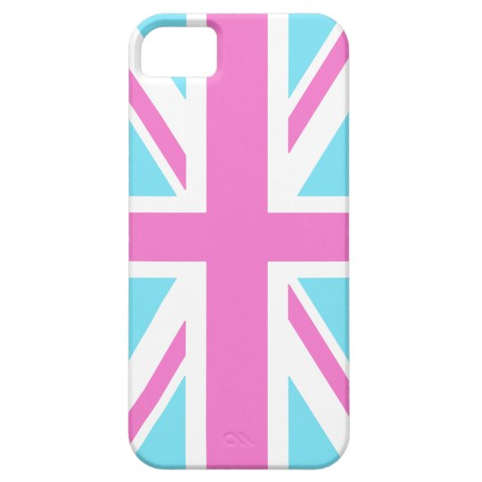 Pretty Pastels Union Flag iPhone 5 Cover