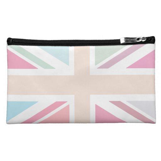 Pretty Pastels Union Flag Medium Cosmetic Bag