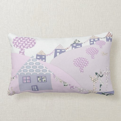 Pretty Patch work house Pillows