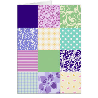 Pretty Patchwork Quilt inspired note cards