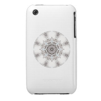 Pretty Pattern on a White Background. iPhone 3 Cover